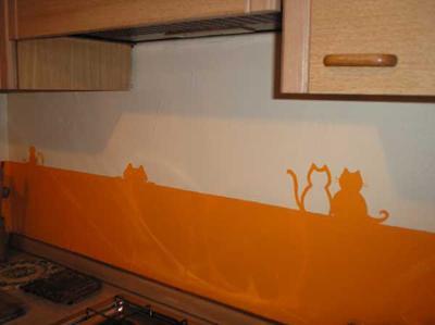 In cucina al posto delle piastrelle le migliori ricette - Resina in cucina al posto delle piastrelle ...
